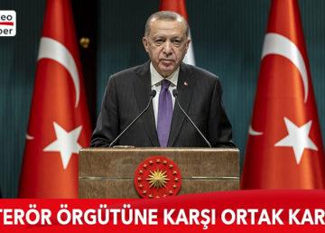Türkiye Cumhurbaşkanı Recep Tayyip Erdoğan ve Irak Başbakanı Mustafa Kazımi, ortak basın toplantısı düzenledi.