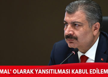 """Sağlık Bakan Fahrettin Koca, Gaziantep'te yoğun bakım servisindeki patlamaya ilişkin, """"Bakanlığımızın hastaneleri bilgilendirmesinin 'ihmal' olarak yansıtılması kabul edilemez"""" açıklamasında bulundu."""