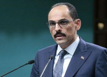 Cumhurbaşkanlığı Sözcüsü İbrahim Kalın, 27 AB ülkesinin Ankara büyükelçileri ve misyon temsilcileri ile video konferans yöntemi ile bir araya geldi.